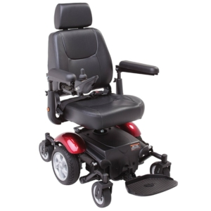 Rascal P327 Mini Powerchair - Red